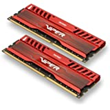 Patriot 16GB(2x8GB) Viper III DDR3 1866MHz (PC3 15000) CL10 Desktop Memory With Red Gaming Heatsink - PV316G186C0KRD