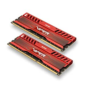Patriot 16GB(2x8GB) Viper III DDR3 1600MHz (PC3 12800) CL10 Desktop Memory With Red Heatsink - PV316G160C0KRD