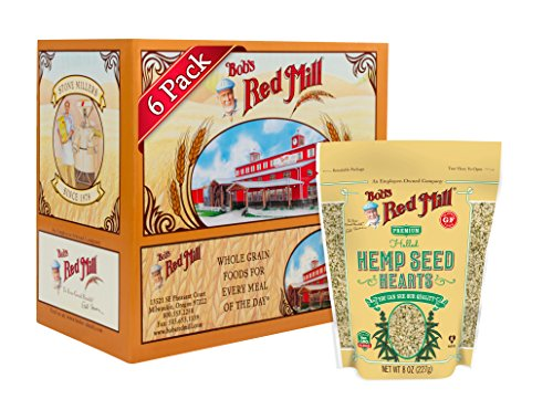 Bob's Red Mill Hulled Hemp Seed Hearts, 8-ounce (Pack of ()
