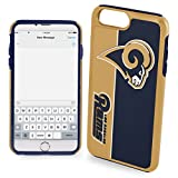 Forever Collectibles iPhone 8+/7+ Dual Hybrid Bold Case - NFL Los Angeles Rams