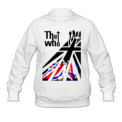 [Wesley The Who Who Is Next Wen's Fashion Hooded Sweatshirt White S] (Lone Ranger Costume Shirt)