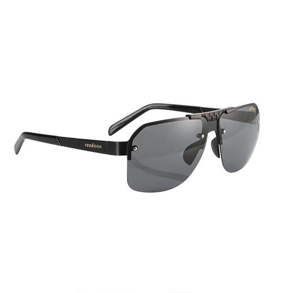 9a8aabc56b Honey Gafas De Sol De Conducción Profesionales para Hombres - Lente De  Seguridad A Prueba De Explosiones HD (Color : Black Frame): Amazon.es:  Jardín