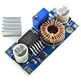 3 3v voltage regulator - HJ Garden 5A 75W DC-DC Buck Converter 5-32V to 0.8-30V/12V/9V/5V/3V Voltage Regulator Board Adjustable Large Power Step-Down Power Supply Module with Heat Sink XL4005