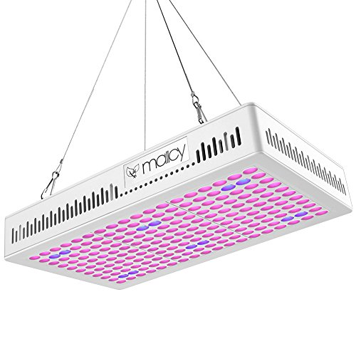 LED Grow Lights 300w, Upgraded Full Spectrum Plant Light Growing Lamp Hanging Growth Light for Indoor Hydroponic Plants and Gardening Plants for Greenhouse Veg Seeding and Flowering by MAIICY
