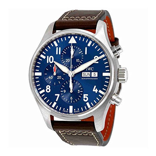IWC-Mens-Pilots-Chronograph-Edition-Le-Petit-Prince-IW377714-Analog-Automatic-Brown-Watch