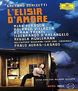 Donizetti: L'Elisir D'Amore (El Elixir De Amor) [Alemania] [Blu-ray]
