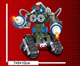 3D construction eductional plastic Building Blocks bricks Red alert 3.0 81004 Coming Tank X-2 168pcs Toys gift Green