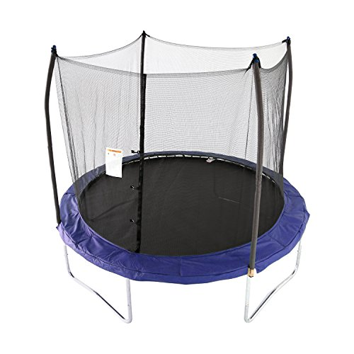 Skywalker Trampolines 10' Round Trampoline with Enclosure – Blue