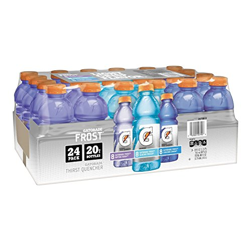 Gatorade Sports Drinks Frost Variety Pack (20 fl. oz. bottles, 24 ct.) (pack of 6) by Gatorade