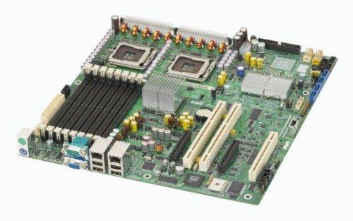 (Intel Dual LGA771 Xeon/Intel 5000V/FSB1333/8DDR2-667/ATI ES1000/2GbE/ SSI EEB Server Motherboard)