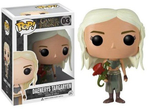 Funko POP Game of Thrones: Daenerys Targaryen Vinyl Figure (Colors May Vary) (Figure Vinyl Model)