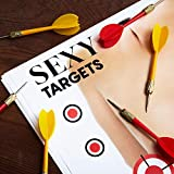JUVOLICIOUS Sexy Shooting Targets, 50 Count, 12 x