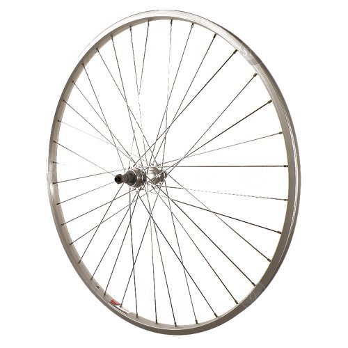 Sta-Tru Silver Alloy ATB 6-7 Speed quick release wheel