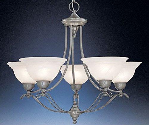 Designers Fountain 5695-PW Palladium 5 Light Chandelier