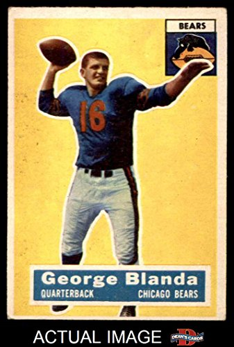 1956 Topps # 11 George Blanda Chicago Bears (Football Car...