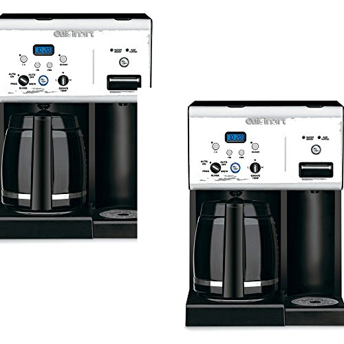 Cuisinart Coffee Maker Old Models : Cuisinarta Stainless Steel 12-Cup Programmable Coffee Maker - Cuisinart Model - CHW-12 - Set of ...