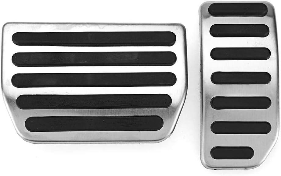 ZPARTNERS Acero Inoxidable el Pedal del Acelerador Pedal de Freno Pad Auto Parts para Volvo V60 XC60 V40 S40 S60 S80L en los Accesorios del automóvil