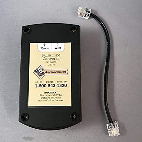 Pulse to Tone Converter (Use Your Antique Rotary Dial Telephone On Modern Lines) (Dial Tone)