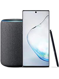 Samsung Galaxy Note 10 Factory Unlocked Phone with 256GB , Aura Black with Echo Plus - Premium Sound with Built-in Smart...