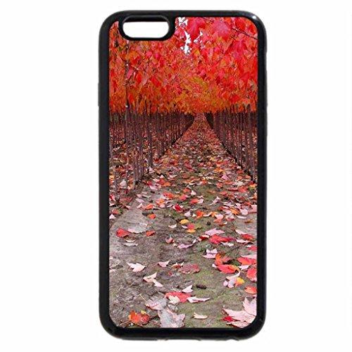 iPhone 6S Case, iPhone 6 Case (Black & White) - Autumn roal