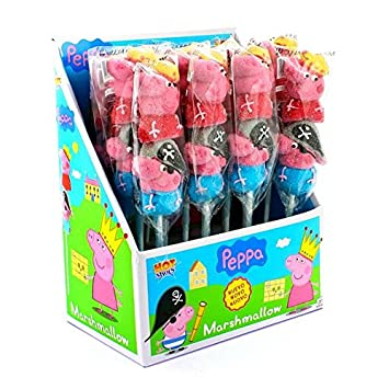 Pincho brocheta chuches George y Peppa Pig: Amazon.es ...