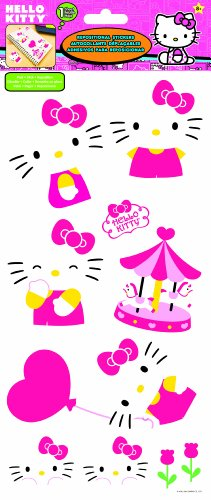 Sandylion Hello Kitty Decals Stickers, 6 by 14-Inch