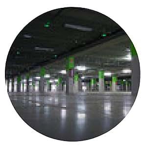 alfombrilla de ratón Garaje de Estacionamiento - ronda - 20cm