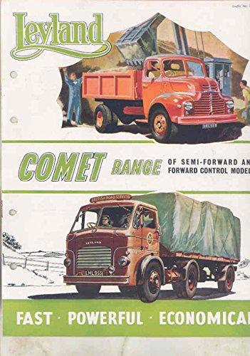 amazon com 1958 leyland comet 7 8 ton dump tractor trailer truck