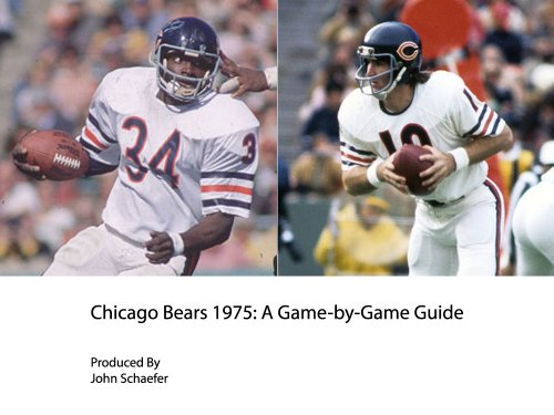 Chicago Bears 1975: A Game-by-Game Guide
