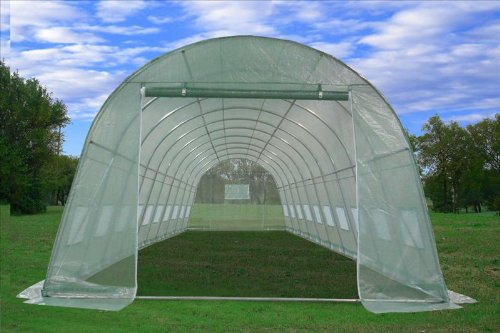 Greenhouse 33'x13'x7.5' - Large Heavy Duty Green House Walk in Hothouse 185 Pounds By DELTA Canopies