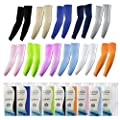 Elixir Arm Cooler Cooling Sleeves UV Protective Compression Arm Sleeves, 1 Pair, Various Color Available