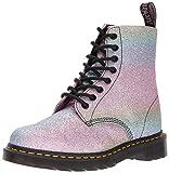 Dr. Martens Women's Pascal GLTR Ankle Boot, Glitter, 6 Medium UK (8 US)