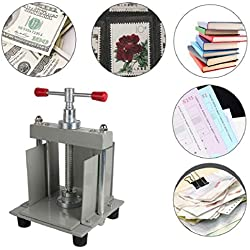 ixaer Manual Paper Press Machine A4 Size Manual Flat Paper Press Machine for Photo Books, invoices, Checks, booklets, Nipping Machine