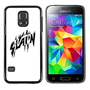 A-type Colorful Printed Hard Protective Back Case Cover Shell Skin for Samsung Galaxy S5 Mini / Samsung Galaxy S5 Mini Duos / SM-G800 !!!NOT S5 REGULAR! ( Aviation Black White Comic Hero Flight )