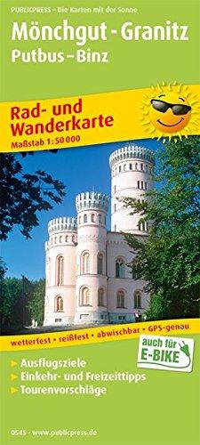 Mönchgut-Granitz, Putbus - Binz: Rad- und Wanderkarte mit Ausflugszielen, Einkehr- & Freizeittipps, wetterfest, reißfest, abwischbar, GPS-genau. 1:50000 (Rad- und Wanderkarte / RuWK) Landkarte – Folded Map, 1. Juni 2018 Mönchgut-Granitz reißfest PUBLIC