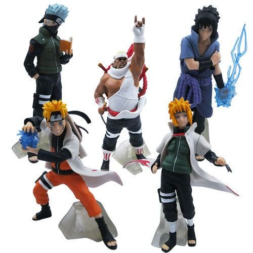 5Pcs Uzumaki kakashi Sasuke PVC Figure Set Toy Model Collection China - Game Galaxy Jersey La Pre