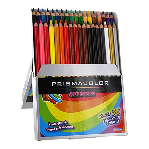 Prismacolor Scholar Colored Pencil Set, Assorted, 36-Count