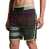 Hurley - Mens Phantom Block Party Hyperweave Speed Elite Boardshorts, Multi, 32
