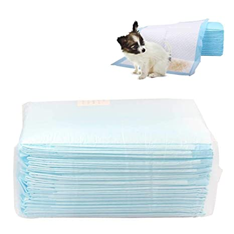 AUOKER Toallitas de Entrenamiento para Mascotas, Empapadores de Entrenamiento para Perros Gatos, Super Absorbente