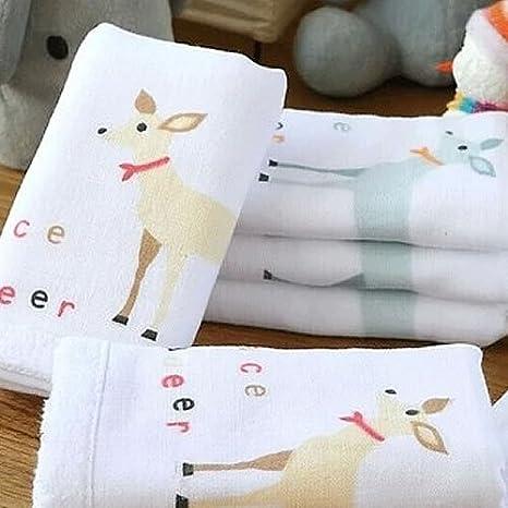 """Grace marca manopla 4 Pack toallas de algodón hilo de para bebé 19 """"x9"""""""
