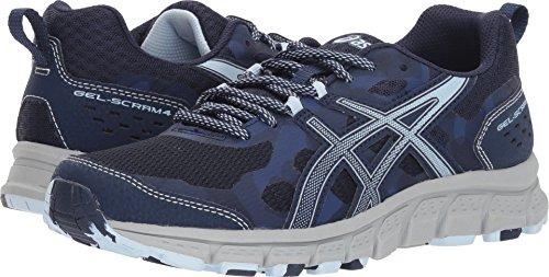 ASICS 1012A039 Women's Gel-Scram 4 Running Shoe, Peacoat/Soft Sky - 5.5 B(M) US by ASICS (Image #3)