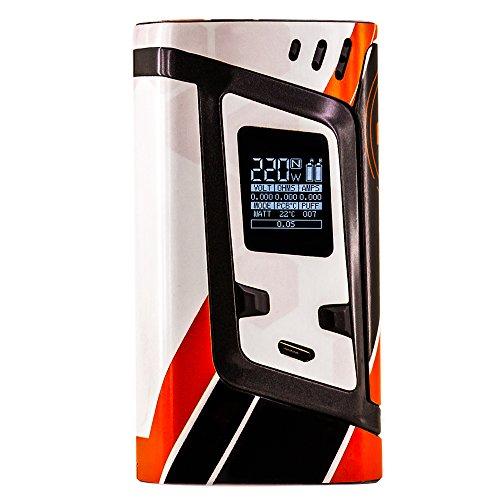 PIMP MY VAPE - Asimov - Custom Protective Vinyl Decal for ecig (e-cigarette) SMOK ALIEN 220W TC Cover - Best quality skin - Second life to your box mod, wrap and enjoy + BONUS STICKER