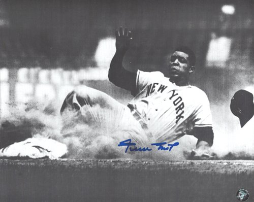 Willie Mays Autographed/Signed San Francisco Giants 8x10 MLB Photo