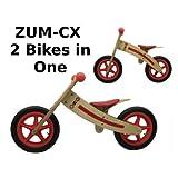 ZÜM CX Wooden Balance Bike
