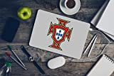 Ottosdecal Portugal Soccer National Team - Wall Decal Vinyl Sticker for Home Interior Decoration Bedroom, Laptop, Window, Mirror, Car (10'' x 13'')