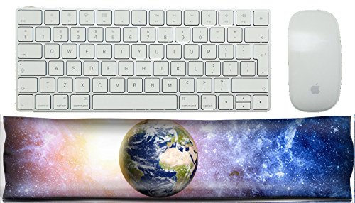 MSD Keyboard Wrist Rest Pad Office Decor Wrist Supporter Pillow IMAGE 27341858 deep space background