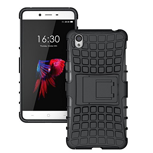 new products 620ae f8450 Wow Imagine Defender Tough Hybrid Armour Shockproof Hard PC And Tpu With  Kick Stand Rugged Back Case Cover For HTC Desire 816 / 816G - Black