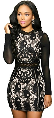Buy belted lace dress poppy - 5