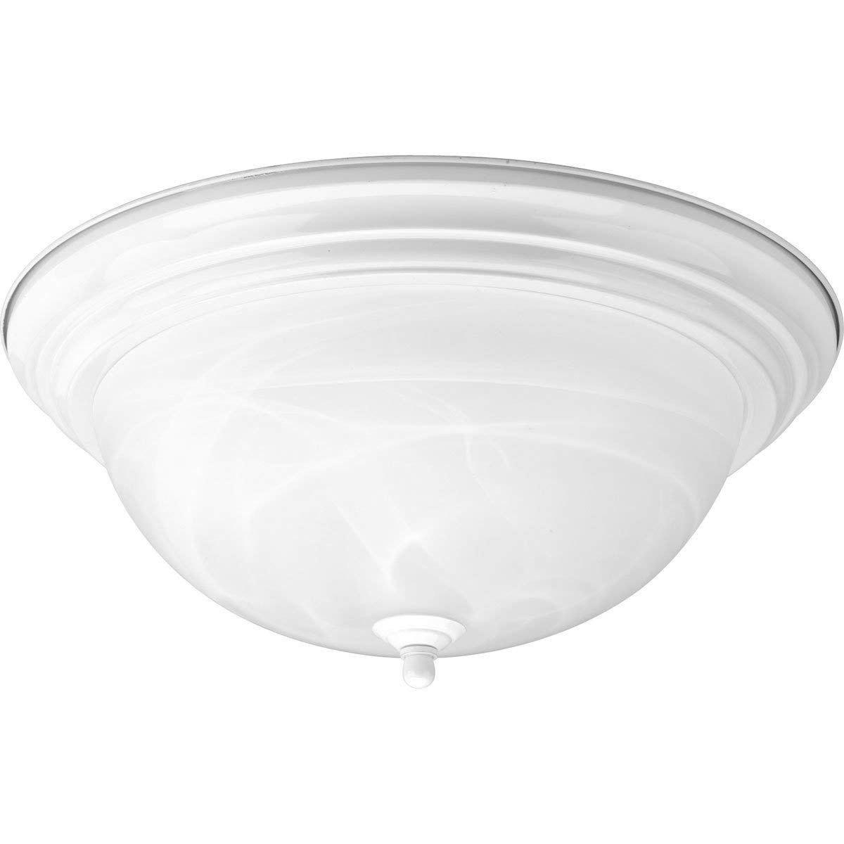 Progress Lighting P3926-30 3-Light Flushmount, White