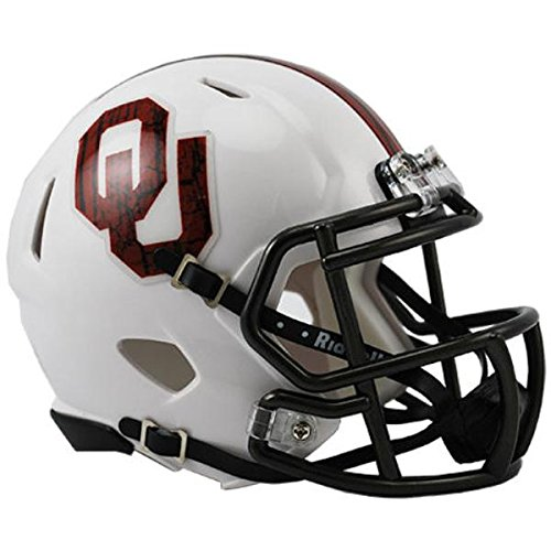 Oklahoma Sooners Figurine (Oklahoma Sooners Speed Mini Helmet - Alternate